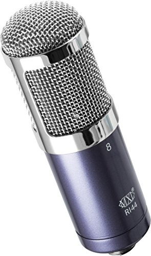 MXL R144 Ribbon Microphone with Shockmount - Recording Studio - 1