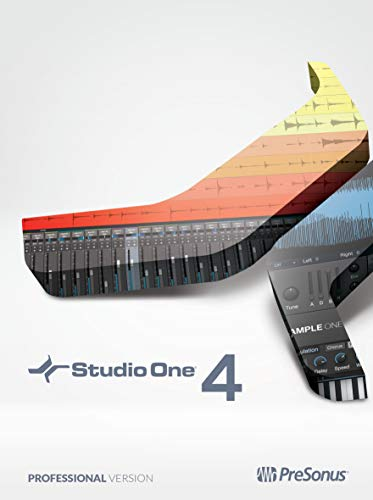 PreSonus Studio One 4 Professional Recording Software Suite [Online Code] - Recording Studio - 1