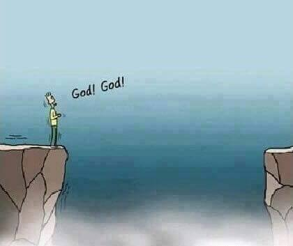 When there's no one else, there's GOD