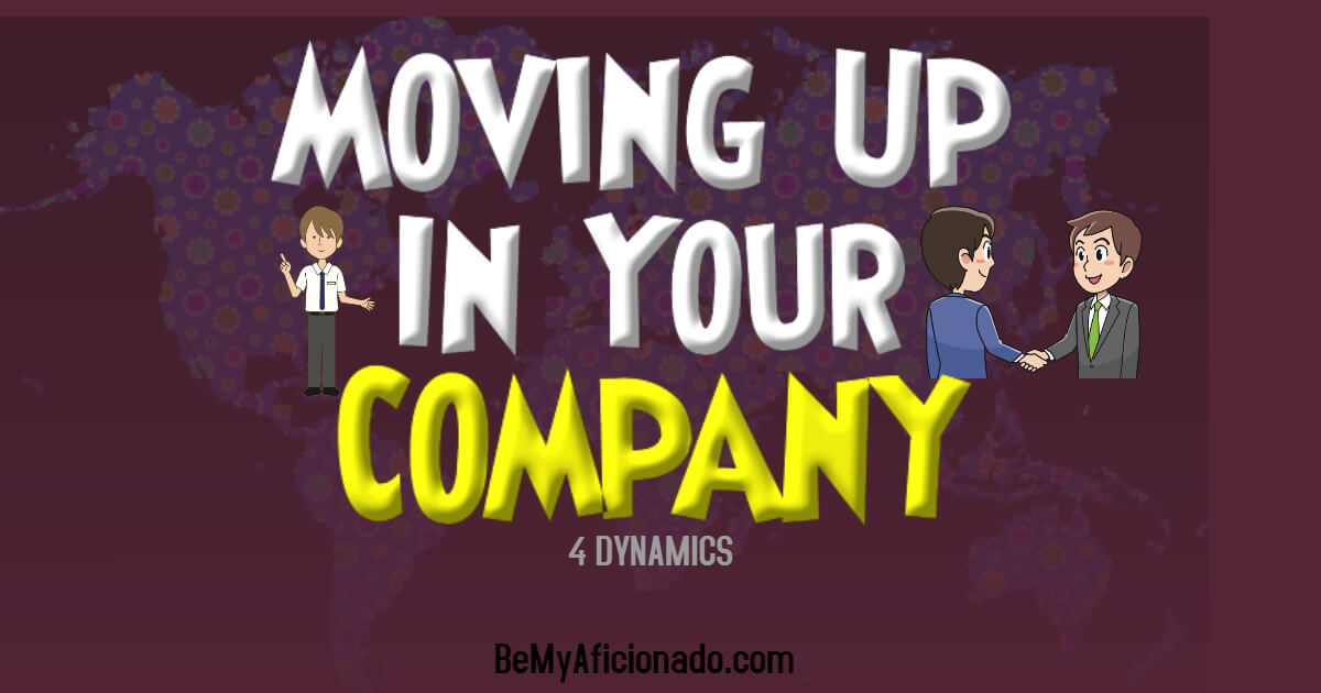 moving up in a company