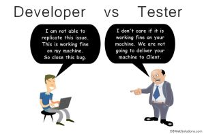 Developer Vs Tester Talk