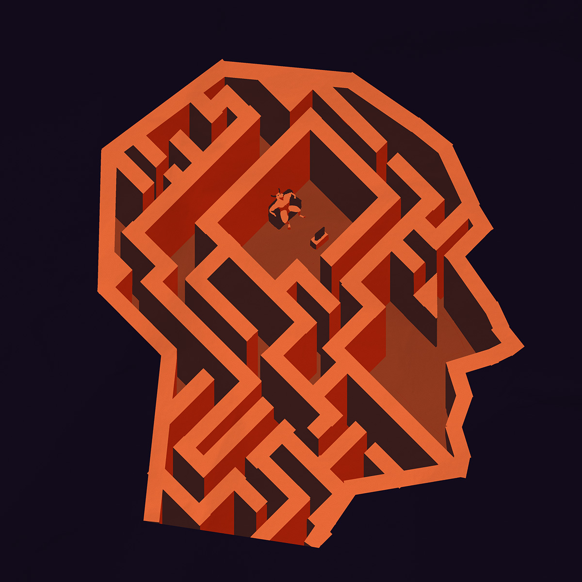 Labyrinth - on identity and self-actualisation.