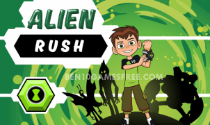 Ben 10 Alien Rush Game
