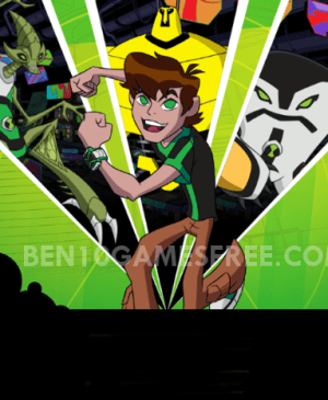 Ben 10 Undertown Runner Game