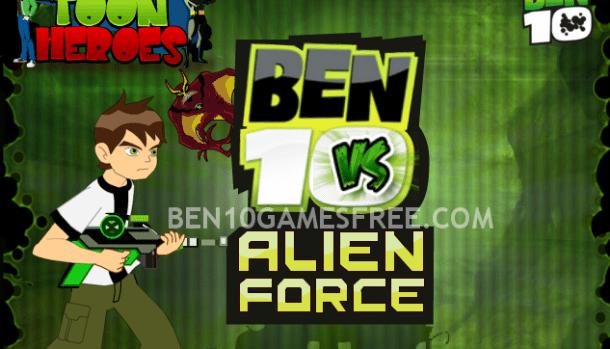 Ben 10 vs Alien Force Game