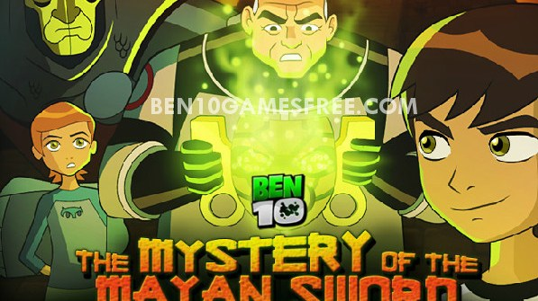 Ben 10 The Mystery of the Mayan Sword Game