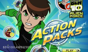Ben 10 Action Packs Game