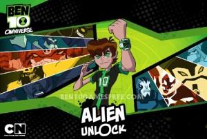 Ben 10 Alien Unlock Game