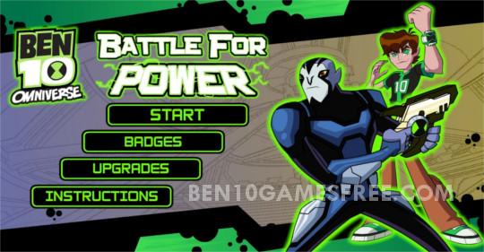 Ben 10 Battle for Power Game