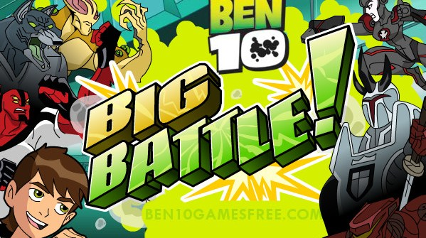 Ben 10 Big Battle Game Download, Play Online