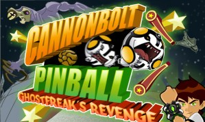 Ben 10 Cannonbolt Pinball Game