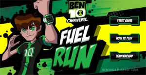 Ben 10 Fuel Run Game