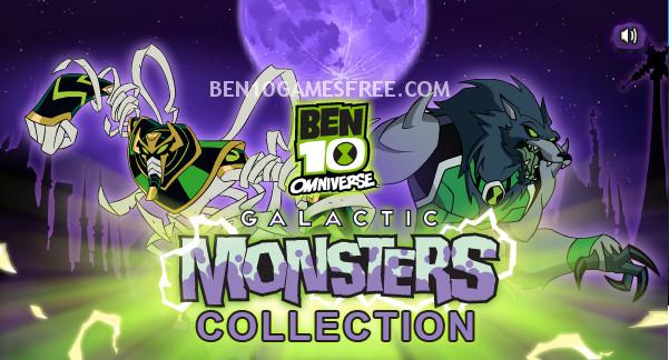 Ben 10 Galactic Monsters Game