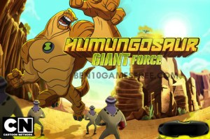Ben 10 Humungousaur Giant Force Game