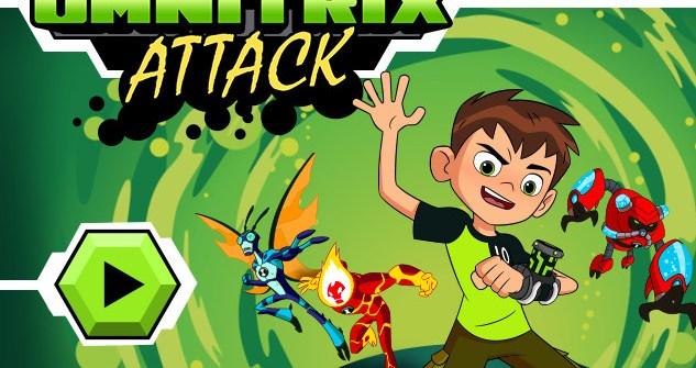 Ben 10 Omnitrix Attack Game