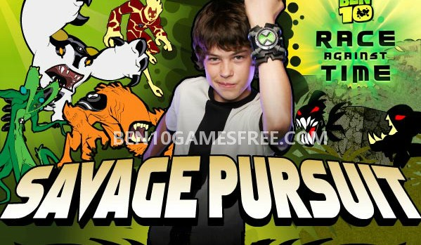 Ben 10 Savage Pursuit Game Download, Play online