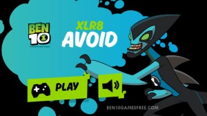 Ben 10 XLR8 Avoid Game