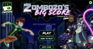 Ben 10 Zombozo Big Score Game