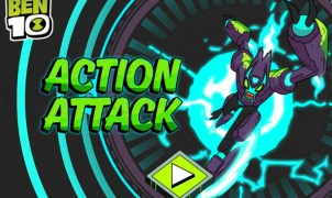 Ben 10 Action Attack Game