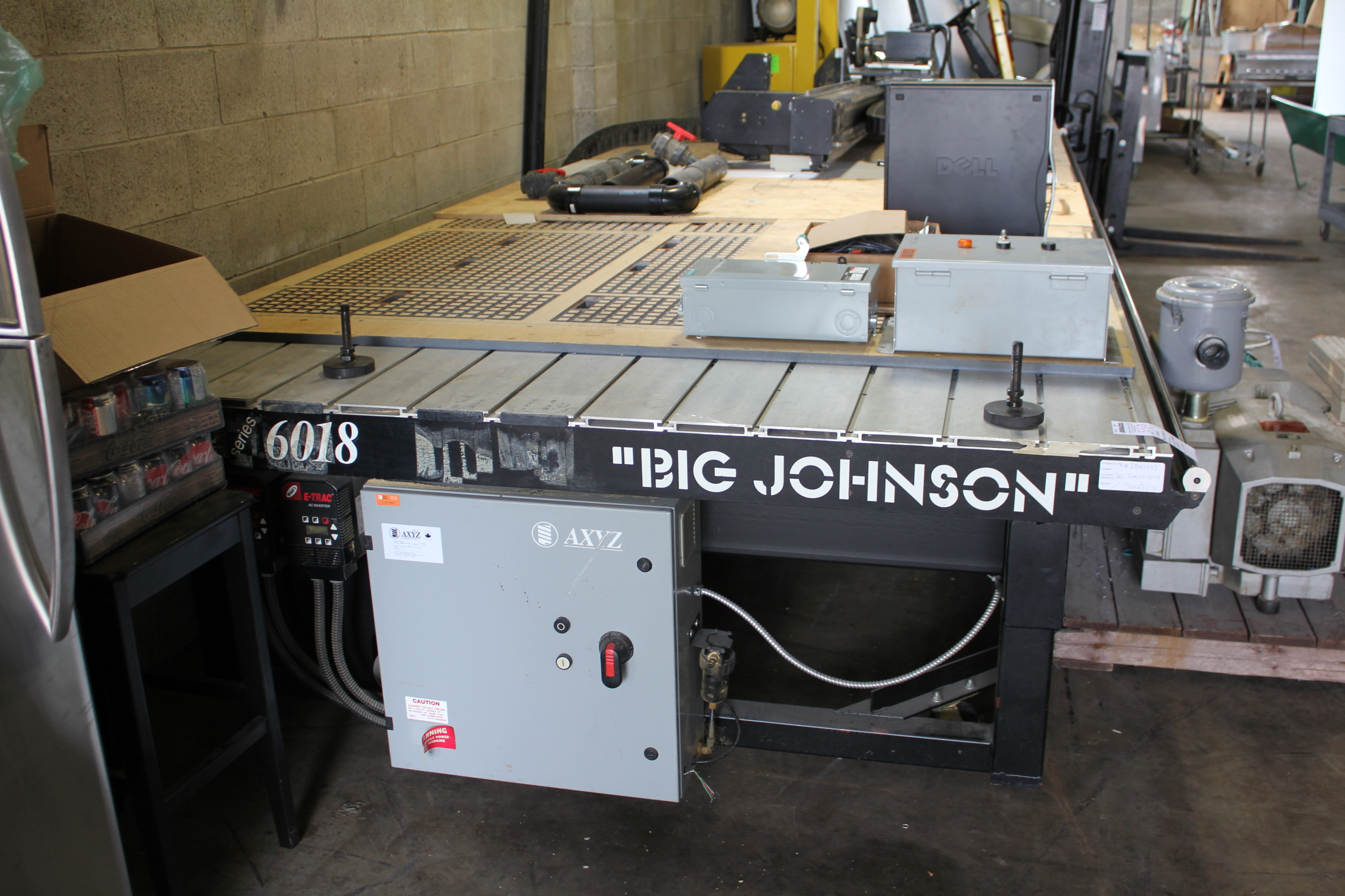 CONCLUDED! - MULTI INDUSTRY - AXYZ BIG JOHNSON 6018 PANEL