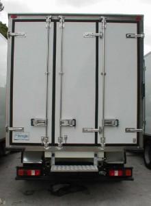 Tre porte posteriori per camion e furgone frigo  Flli