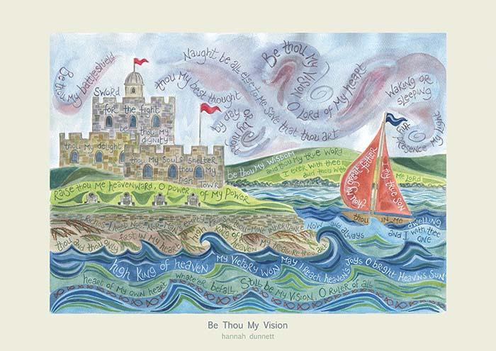 Be Thou My Vision Prints – Ben And Hannah Dunnett