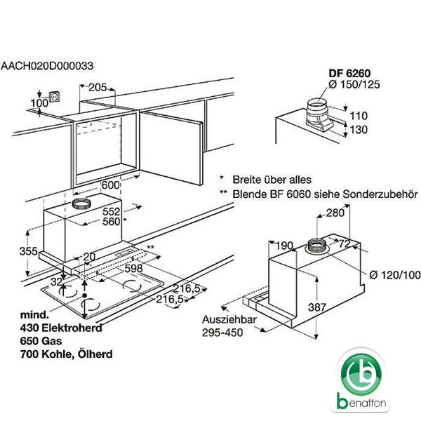 AEG DF 6260-ML PDF
