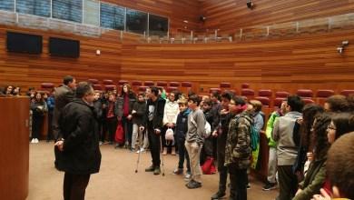 Photo of Visita de los alumnos del IES León Felipe a las Cortes de Castilla y León