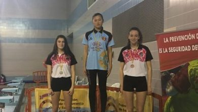 Photo of Iria Ley campeona de Castilla y León y récord en 200 metros natación con obstáculo