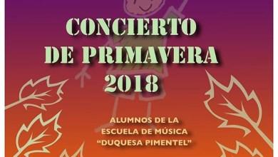 Photo of La Escuela de Música «Duquesa Pimentel» celebrará su Concierto de Primavera