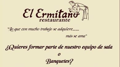 Photo of El restaurante El Ermitaño busca gente para su equipo de Sala