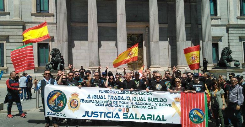 Photo of Jusapol volverá a manifestarse en Madrid el 6 de abril por una equiparación real