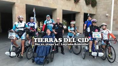 Photo of Discamino pisa Castilla y León tras finalizar la etapa en Redecilla