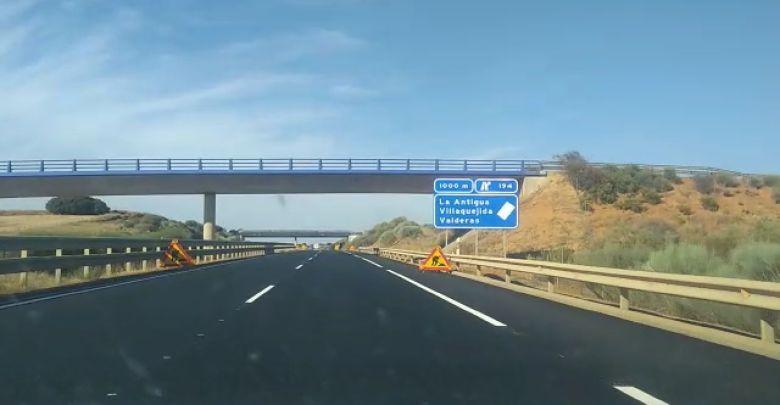 Photo of Comienzan las obras de rehabilitación en la calzada derecha de la A-66 entre León y Benavente