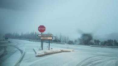 Photo of Carreteras de Sanabria completamente blancas por la nieve