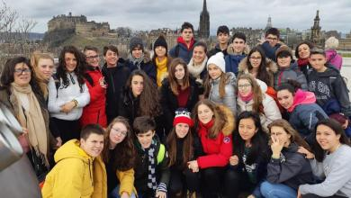 Photo of Inmersión cultural y lingüística de los alumnos de Los Sauces en Edimburgo