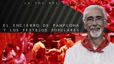 Photo of Charla coloquio «El encierro de Pamplona y Festejos Populares» con Javier Solano