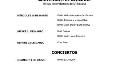 Photo of Actividades de la Escuela de Música Duquesa Pimentel de Benavente