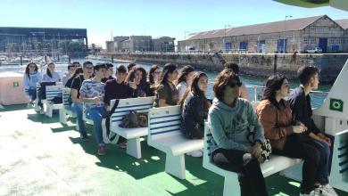 Photo of El Puerto de Vigo como punto de aprendizaje para los alumnos del IES León Felipe