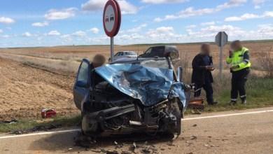 Photo of Cuatro heridos en un brutal accidente en Villalba de la Lampreana
