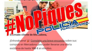 Photo of Nuevo fraude a través de una encuesta de Mercadona del que alerta la Policía Nacional