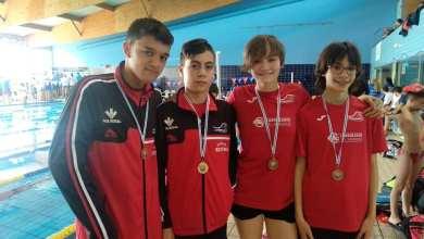 Photo of 4 medallas para el Benavente Natación en el Trofeo del Acuático León