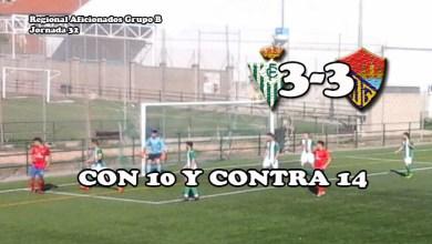 Photo of El Benavente se marca partidazo ante el Betis con diez desde el minuto 7