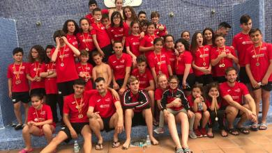 Photo of Éxito en el Trofeo Villa de Benavente con veinte medallas para el Benavente Natación