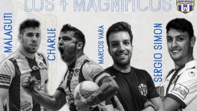 Photo of Malaguti, Charlie, Sergio Simón y Marcos Vara renuevan de una tacada