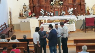 Photo of Inaugurado el pórtico de acceso de la iglesia de Paladinos del Valle