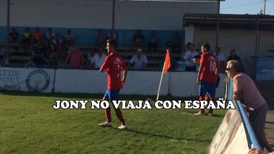 Photo of Jony se queda fuera de la lista de la Selección Española de Fútbol 7