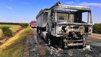 Photo of Importantes retenciones a la altura de Villalpando por el incendio de un camión