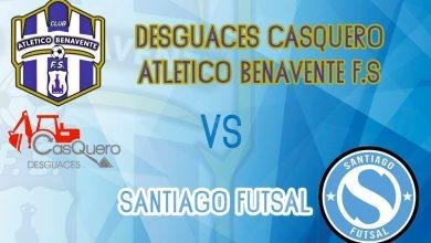 Photo of El Atlético Benavente se enfrentará este sábado al Santiago Futsal en Benavente