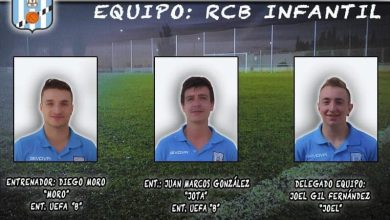 Photo of El Racing Club Benavente presenta a sus entrenadores de infantil